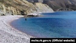 Поиски пропавшего подводного охотника возле Феодосии, 22 апреля