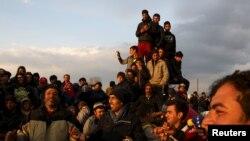 Izbjeglice na makedonskoj granici