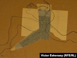 Picasso, Minotaur alergînd, 1935. (Expoziția de la Evian)