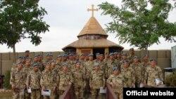 Աֆղանստանում հայ խաղաղապահները արժանացել են խաղաղապահ առաքելության գերմանական հրամանատարության մեդալների ու պատվոգրերի: Մայիս, 2010 թ.
