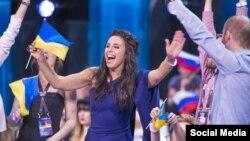 Джамала на конкурсі «Євробачення 2016», архівне фото