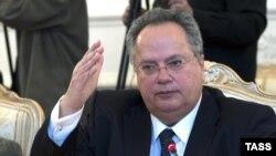 საბერძნეთის საგარეო საქმეთა მინისტრი, ნიკოს კოციასი