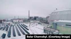 Chernobyl is again churning out energy -- not nuclear, but solar power.