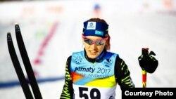 Қазақстандық шаңғышы Анна Шевченко Универсиада жарысында. 30 қаңтар 2017 жыл