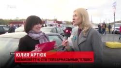 """Беларусше насихат: Түрлі кейіпке еніп """"сұхбат"""" беретін журналист"""