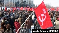 A communist protest in Chisinau (file photo)