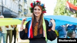 Під час відзначення Дня Незалежності України. Київ, 24 серпня 2019 року