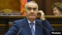 Спикер парламента Армении Гаулст Саакян (архив)