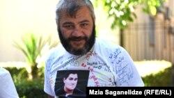 Заза Саралидзе, отец убитого на улице Хорава подростка