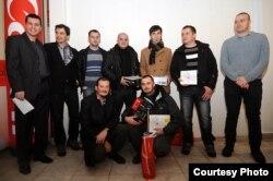 Dobitnici nagrada sa članovima žirija, foto: Denis Ruvić, fotografija.ba