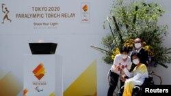 Tokyo 2020 Paralimpiya Oyunlarının məşəli gəzdirilir