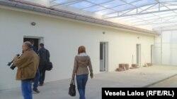 Poseta novom centru za izbeglice, foto: Vesela Laloš