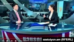 Эдуард Шармазанов в студии Азатутюн ТВ, 29 мая 2018 г.