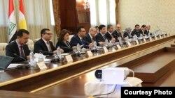 وفد حكومة إقليم كردستان الى بغداد