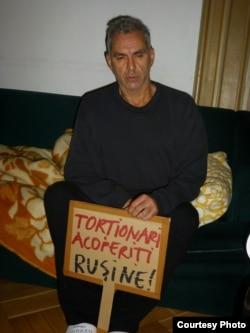Andrei Ursu în greva foamei