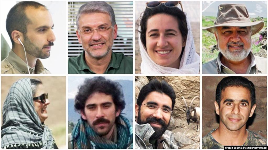 هشت فعال محیط زیست ایران مدت شش ماه است که «در سلولهای کوچک چند نفره در بازداشت به سر میبرند».