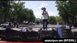 «Ո՛չ թալանին» նախաձեռնության անդամ Վաղինակ Շուշանյան, 24-ը հունիսի, 2015թ.