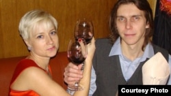 Екатерина Онохова и ее муж Александр.