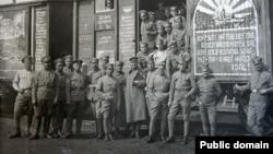 Чехословацкие легионеры в Сибири