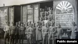 Чешские легионеры в Сибири, 1918 год