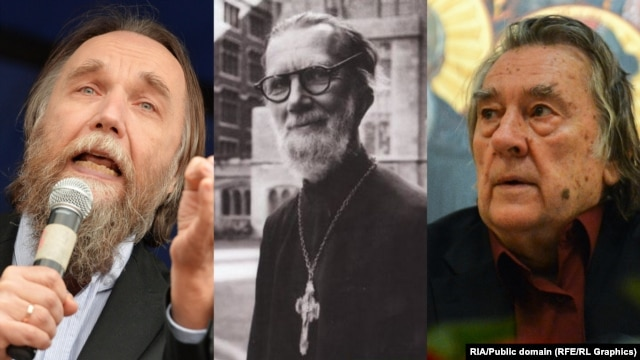 Eurasianism, old and new: Aleksandr Dugin, Giorgy Florovsky and Aleksandr Prokhanov.
