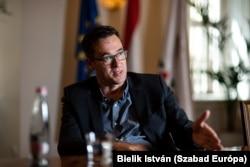 Karácsony Gergely főpolgármester a Párbeszéd, az MSZP és az LMP miniszterelnök-jelöltje