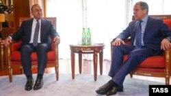 Ռուսաստանի և Թուրքիայի ԱԳ նախարարներ Սերգեյ Լավրովի և Մևլութ Չավուշօղլուի հանդիպումը Սոչիում, 1-ը հուլիսի, 2016թ․