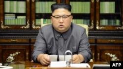 Demirgazyk Koreýanyň lideri Kim Jong Un
