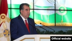 Tajik President Emomali Rahmon (file photo)