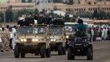 علی لاریجانی، یک هفته پیش اعلام ابتلایش به کرونا، همراه با فرمانده سپاه از رزمایش «دفاع بیولوژیک نیروی زمینی سپاه» بازدید کرده بود