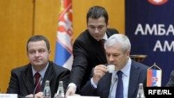 Ivica Daçiq dhe Boris Tadiq (Foto arkiv)