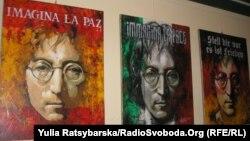 Izložba posvećena Johnu Lennonu u Dnipropetrovsku, Ukrajina