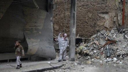 Prizor iz Damaska, novembar 2015.