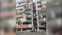 ویرانی های گسترده در مسکن مهر شهر سرپل ذهاب