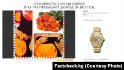 Фото из расследования Factcheck.kg.