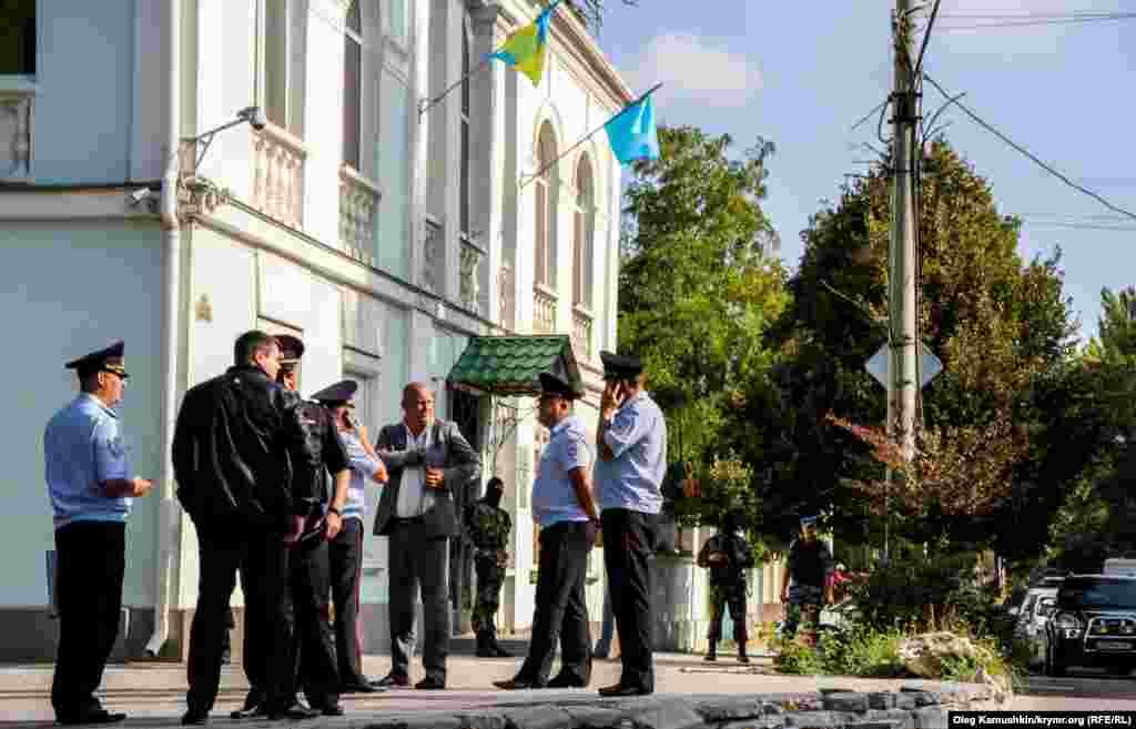Полиция вәкилләре аңлатма бирми