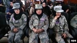 Женщины военнослужащие в Афганистане