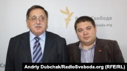 Юрій Ключковський (ліворуч) і Валерій Карпунцов