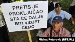 Sa jednog od protesta radnika Pretisa