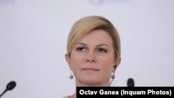 Колинда Грабар китаровиќ - претседателка на Хрватска.