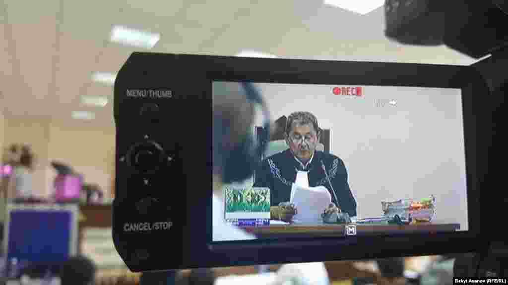Ишти Качыке Эсенкановдун төрагалыгы менен судьялар Лепес Темирбеков, Каныбек Бокоев кароодо.