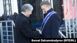 Президент наградил главу «Газпрома» Алексея Миллера орденом «Данакер»