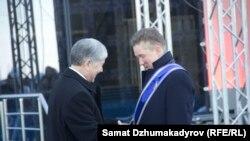 А. Атамбаев жана А. Миллер