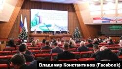 Внеочередное заседание российского парламента Крыма, 14 декабря 2020 года