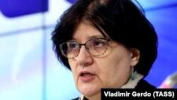 Melita Vujnovic, the World Health Organization's representative in Russia