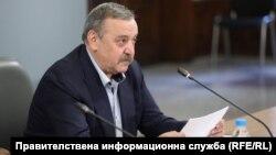 Проф. Тодор Кантарджиев, член на Националния оперативен щаб