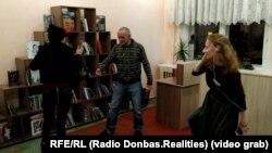«Тихая вечеринка» в библиотеке Северодонецка