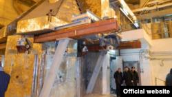 Ядерна установка «Джерело нейтронів» (фото з сайту Харківської ОДА)