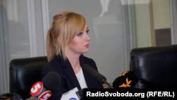 Наталія Седлецька на засіданні суду