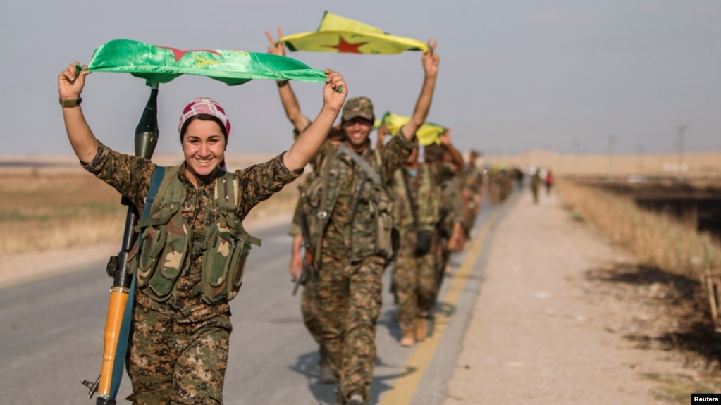 Image result for syrian kurdish forces